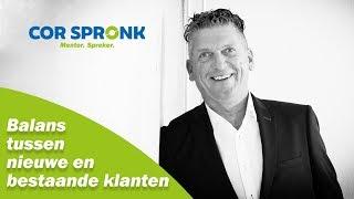 Balans tussen nieuwe en bestaande klanten l corspronk.nl