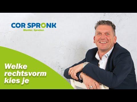 Welke rechtsvorm kies je l corspronk nl