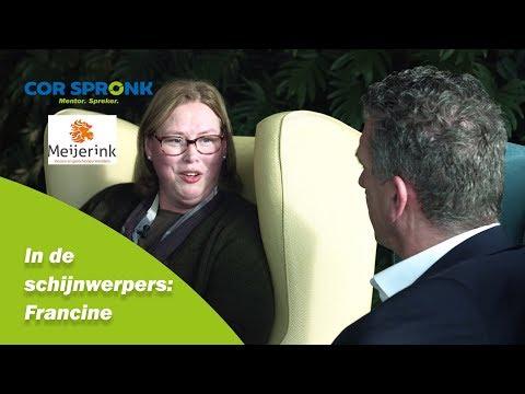 In de schijnwerpers: Francine l corspronk.nl