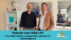 Tony Veer - ondernemer en DGA - over management buy out - willen winnen - transparantie - adviseurs en onderbuikgevoel.