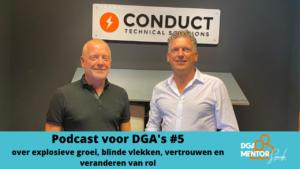 Podcast voor DGA's #5 Cor Spronk in gesprek met Pieter Kremer