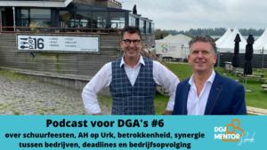 Podcast voor DGA's #6 Cor Spronk in gesprek met Henk Slump
