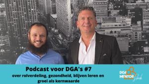 Podcast voor DGA's #7 Cor Spronk in gesprek met Sherif El Zeiny