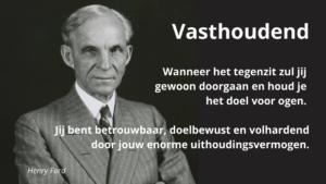Vasthoudend